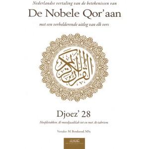 De Nobele Qor'aan - Djoez' 28