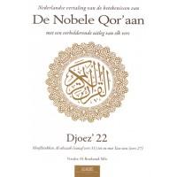 De Nobele Qor'aan - Djoez' 22