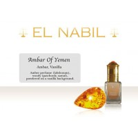 Amber of Yemen - El-Nabil Parfum (5 ml)