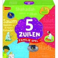 5 Zuilen Familiespel Mixcolor
